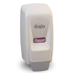 GOJO® 800 mL Bag-in-Box Dispenser - White