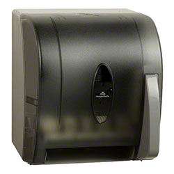 GP Pro™ Universal Push Paddle Paper Towel Dispenser-Smoke