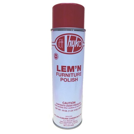 hyko Lem'n Furniture Polish - 19 oz. Net Wt.