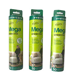 Large Surface Mega Lint Roll Refill