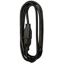 Master Electrician 10' Black Extension Cord
