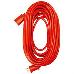 Master Electrician 50' Red Extension Cord
