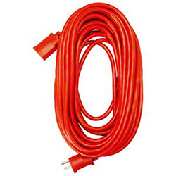 Master Electrician 100' Red Extension Cord