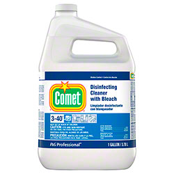 Comet® Disinfecting Cleaner w/Bleach 3-40 - Gal., Closed Loop