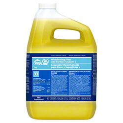 Pro Line® #33 Disinfectant Finish Floor Cleaner-Gal.Closed