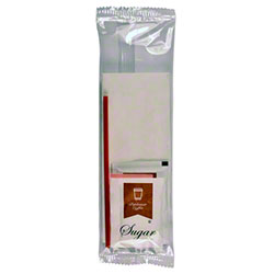 RDI Economy Sugar/Sugar Sub/Creamer/Stirrer Condiment Kit