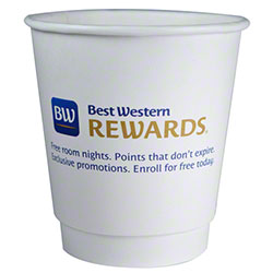 RDI Best Western Rewards 10 oz. Double Wall Unwrapped Cup