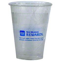 RDI Best Western Rewards 12 oz. Plastic Wrapped Cup