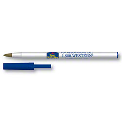 RDI Best Western Stick Pen w/Cap