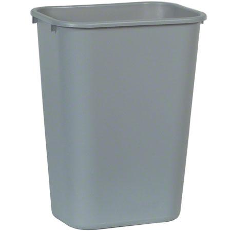 Rubbermaid® Deskside Wastebasket - 41 1/4 Qt., Gray