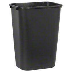 Rubbermaid® Deskside Wastebasket - 41 1/4 Qt., Black