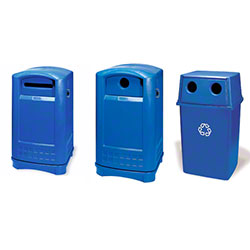 Rubbermaid® Outdoor Station Containers