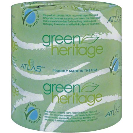 "Green® Heritage Pro 2-Ply Bathroom Tissue - 4.4"" x 3.5"""
