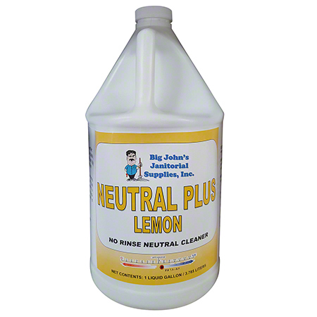 Big John's Neutral Plus No Rinse Lemon Neutral Cleaner -Gal.