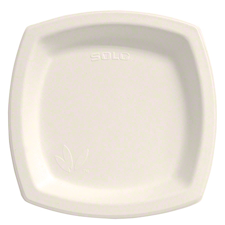 Bare® by Solo® Eco-Forward® Sugarcane Plate - 8.25""