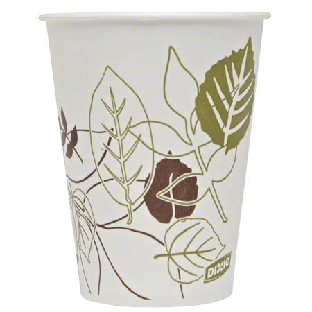 Dixie® Paper Cold Cup - 9 oz., Pathways