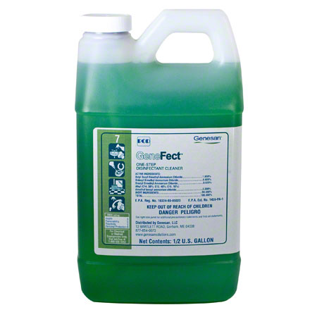 Genesan™ #7 GeneFect POD Disinfectant/Cleaner - .5 Gal.