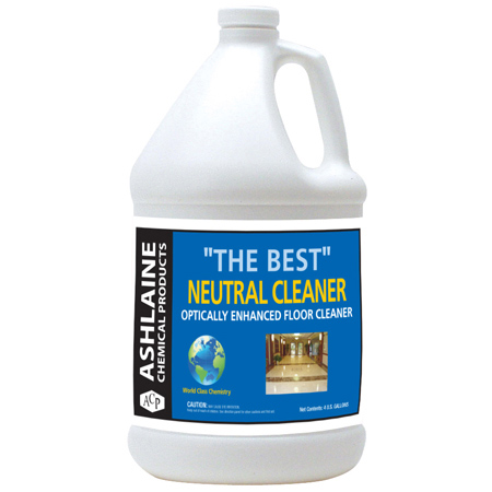 "Ashlaine Chemical ""The Best"" Neutral Cleaner - Gal."