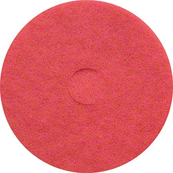 """Treleoni 40 Red Buffing/Cleaning Floor Pads - 20"""""""
