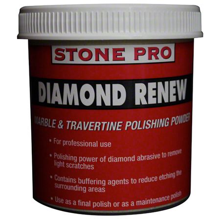 Stone Pro Diamond Renew Marble & Travertine Polish - 1 lb.
