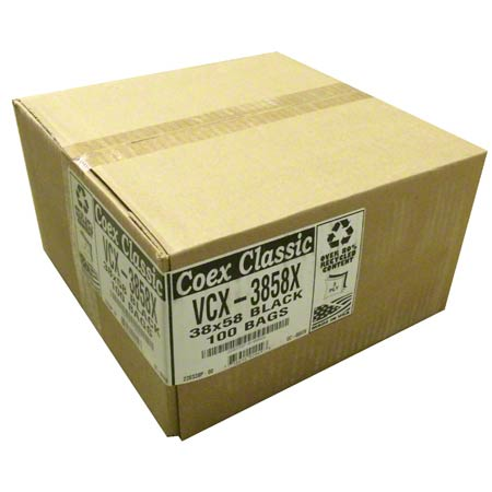 Aluf COEX Supertuff® VCX Bag - 38 x 58, 1.5 gauge EQ