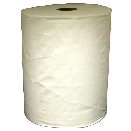 "White Roll Towel - 10"" x 800'"