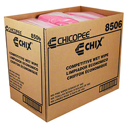Chicopee® Chix® Competitive Wet Wipe - 11 1/2 x 24