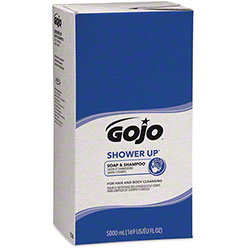 GOJO® Shower Up® Soap & Shampoo - 5000 mL