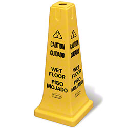 "Rubbermaid® ""Caution Wet Floor"" Imprint 25 3/4"" Cone"