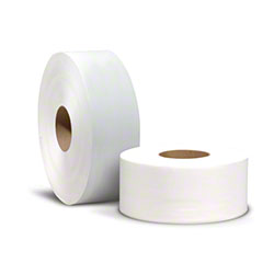 "Reliable® 2 Ply Jumbo White Toilet Tissue - 3.55"" x 1000'"