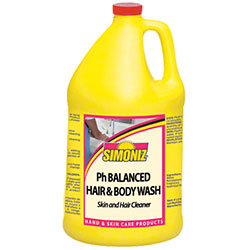 Simoniz® pH Balanced Hair & Body Wash - Gal.