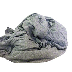 New Gray Polo Rags - 50 lb. Box