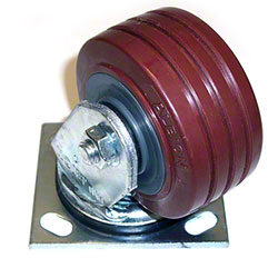 """NSS® 4"""" Red Caster"""