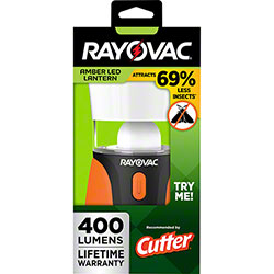 Rayovac® Sportsman (3) D Amber LED Insect Lantern