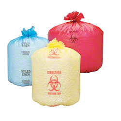 Republic Bag LLDPE Printed Can Liners on Dispenser Roll