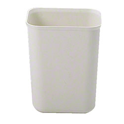 Rubbermaid® Fire Resistant Wastebasket - 7 Qt., Beige