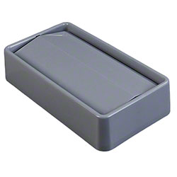 Carlisle Trimline™ Swing Top Lid For 15 & 23 Gal. Waste Container - Grey