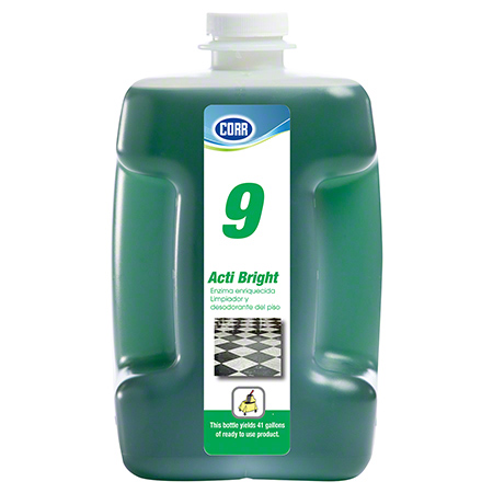 Corr PF9 Acti Bright Enzyme Floor Cleaner & Degreaser-80 oz.