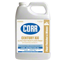 Corr Century XXI Floor Finish - 2.5 Gal.