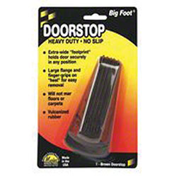 Big Foot® Doorstop - Brown
