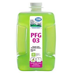 PFG03 Green Organic Acid Restroom Cleaner - 80 oz.