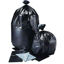 Low Density Flat Pack Liner - 40 x 46, 2 mil, Black