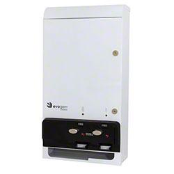 HOSPECO® Evogen™ Dual Feminine Hygiene Dispenser-White