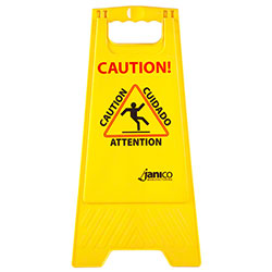 Janico Standard Wet Floor Sign