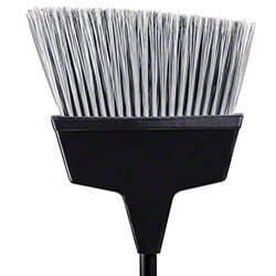 "M2 Professional Large Angle Broom w/48"" Handle"