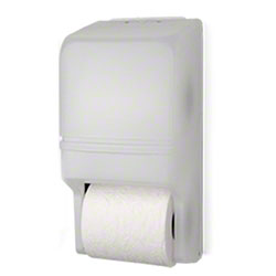 Palmer Two-Roll Standard Tissue Dispenser - Dark Translucent