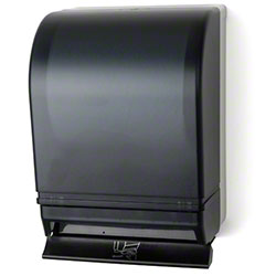 Palmer Push Bar Roll Towel Dispenser - Dark Translucent