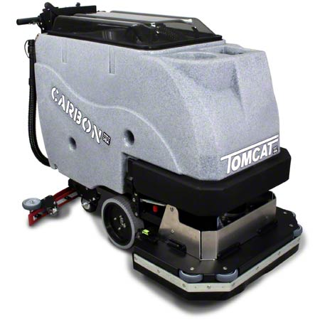 """Tomcat® Carbon Traction Drive Scrubber - 28"""", Disk"""