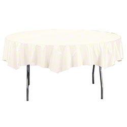 Creative Touch of Color Lined Tablecover - White