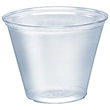Solo® Ultra Clear™ Clear PET Cup - 9 oz. Squat